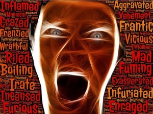 What anger does…